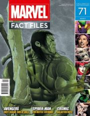 Marvel Fact Files #71 Eaglemoss Publications